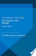 The Character Of The Manager