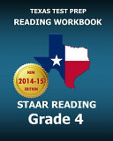 Texas Test Prep Reading Workbook Staar Reading Grade 4