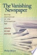 The Vanishing Newspaper  2nd Ed
