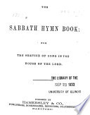 The Sabbath Hymn Book