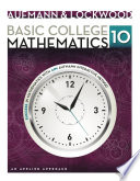 Basic College Mathematics  An Applied Approach