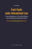 Trust Funds under International Law