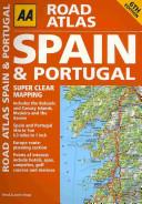 AA Road Atlas Spain   Portugal