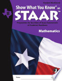 SWYK on STAAR Math Gr  8  Student Workbook