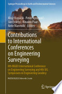 Contributions To International Conferences On Engineering Surveying