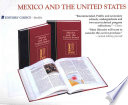 Mexico and the United States Relations With Its Neighbors To The