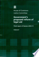 Government s Proposed Reform of Legal Aid