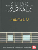 Mel Bay's Guitar Journals... Sacred