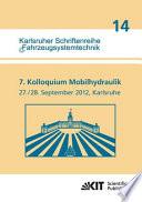 7. Kolloquium Mobilhydraulik : Karlsruhe, 27./28. September 2012