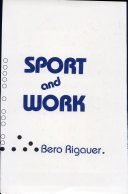 Sport and Work