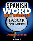 Spanish Word Search Book For Adults