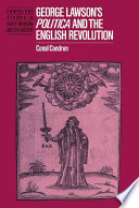 George Lawson S Politica And The English Revolution