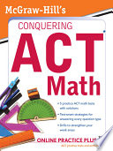 McGraw Hill s Conquering the ACT Math