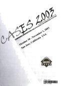 CASES 2003
