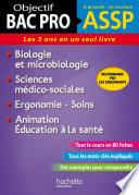 Fiches ASSP Soins  sant    Biologie et microbiologie