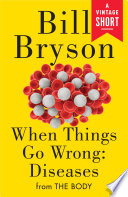 Book When Things Go Wrong  Diseases