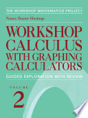 Workshop Calculus with Graphing Calculators