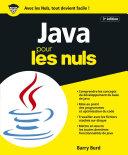 Java pour les Nuls 3e   dition