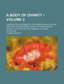 A Body of Divinity PDF