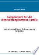 Kompendium F R Die Dienstleistungsfachwirt Familie