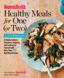 Women's Health Healthy Meals for One (or Two) Cookbook Book