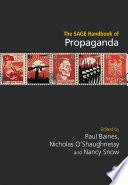 The SAGE Handbook of Propaganda Book PDF