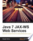 Java 7 Jax Ws Web Services