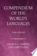 Compendium of the World s Languages