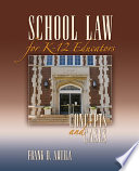 School Law for K 12 Educators