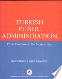 Turkish Public Administration