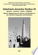 Usbekisch-deutsche Studien