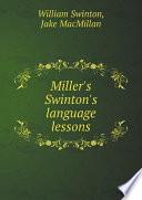 Miller S Swinton S Language Lessons