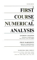 A First Course in Numerical Analysis