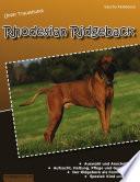 Unser Traumhund  Rhodesian Ridgeback