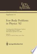 Few Body Problems in Physics    02