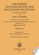 Siebentes Buch: Zeit des Weltkrieges (1790–1815)