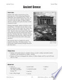 Hands On History  Ancient Greece