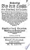 Leichpredigt bey dem Christlichen Begrebnuß Friedr. von Brietzke