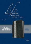 Life Application Study Bible KJV  Large Print