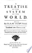 A Treatise of the System of the World