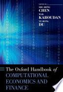 The Oxford Handbook Of Computational Economics And Finance
