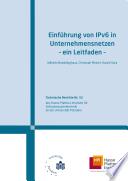Einführung von IPv6 in Unternehmensnetzen