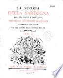 La Storia della Sardegna, scritta dall' avvocato Michele Antonio Gazano,..