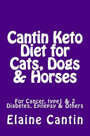 Cantin Keto Diet For Cats Dogs Horses