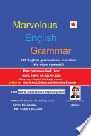 Marvelous English Grammar