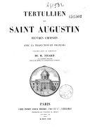 Book Tertullien et Saint Augustin