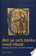 Att se och tänka med ritual