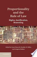 Proportionality and the Rule of Law