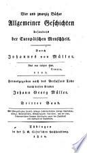 Johannes von Müllers Sämmtliche Werke