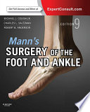 Mann S Surgery Of The Foot And Ankle E Book